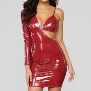 Fashion Nova two sides of the story mini dress